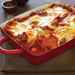 Baked Polenta with Sausage and Tomato-Pepper Sauce Recipe