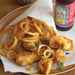 Beer-battered Cod and Onion Rings Recipe