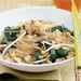 Rice Noodles with Pork, Spinach, and Peanuts Recipe