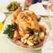 Roast Lemon Chicken with Shallots and Potatoes Recipe