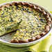 Fava Leaf and Parsley Quiche Recipe