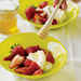 Strawberries with Fromage Blanc and Lemon Honey Recipe