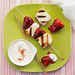 Grilled Strawberry Shortcake Kebabs