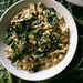 Crispy Grilled Kale and Pancetta Risotto Recipe