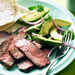 Grilled Steak with Avocado and Red Onion Salad Recipe