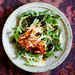 Arugula and Halloumi Salad with Pomegranate Molasses Dressing Recipe