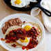 Huevos Rancheros con Bacon Recipe