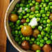 Peas and Potatoes with Bay Leaves and Black Pepper Recipe