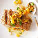 Grilled Halibut with Tomato, Green Olive, and Celery Sauce Recipe