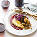Black Cod with Red Cabbage and Pomegranate Brown Butter Recipe