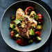 Grilled Cilantro Chicken with Pickled Tomato and Avocado Salsa Recipe