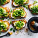 Open-Face Fava and Egg Salad Sandwiches