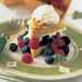 Cornmeal Piñon Shortcakes with Berries and Lime Cream Recipe