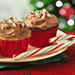 Peppermint Mocha Frosted Candy Cane Cupcakes Recipe