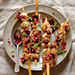 Lemon-Herb Chicken Skewers with Blueberry-Balsamic Salsa Recipe