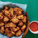 Lionfish Fritters with Red Bell Pepper Coulis Recipe