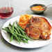Moroccan-Spiced Pork Chops with Mashed Sweet Potatoes Recipe