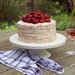 Strawberries and Rosé Cake Recipe
