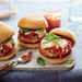 Parm-Style Chicken Sliders