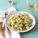 Pasta with Bacon, Shredded Brussels Sprouts, and Lemon Zest Recipe