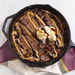 Peanut Butter-Chocolate Chip Skillet Cookie Image