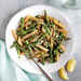 Penne with Asparagus, Pistachios, and Mint