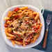 Penne and Chicken Tenderloins with Spiced Tomato Sauce Recipe
