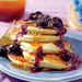 Ricotta Pancakes with Brown Butter Maple Syrup and Blueberry Compote Recipe