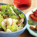 Romaine Salad with Honey-Chile Dressing