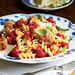 Rotini with Crumbled Turkey and Tomato Sauce Recipe