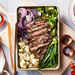 Sheet Pan Steak with Blistered Veggies image