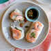 Shrimp Summer Rolls with Sesame-Soy Dipping Sauce Recipe