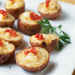 Smoked Salmon and Cheese Mini Twice-Baked Potatoes Recipe
