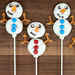 Snowman Sugar Donuts Recipe