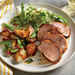 Spiced Pork Tenderloin with Roasted Potatoes and Green Onions Recipe