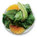 Spinach Salad with Avocado and Orange