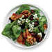 Spinach Salad with Bacon, Walnuts, and Blue Cheese Recipe