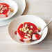 Strawberry Panna Cotta with Cookie Crumble