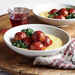 Sweet and Sour Turkey Meatballs with Polenta
