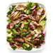 Warm Chicory Steak Salad with Agrodolce Dressing
