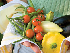 Nothing says summer like juicy peaches, ripe tomatoes, or fresh basil. Seasonal produce from your local farmers market or backyard garden has a taste, smell, and uniqueness that gives recipes a flavor that's hard to match. Here's the season's bounty of produce options and ways to use in your home-cooked meals.