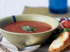 Classic Tomato Soup and Grilled Cheese