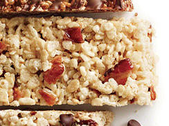 Maple-Bacon Chewy Crispy Bars