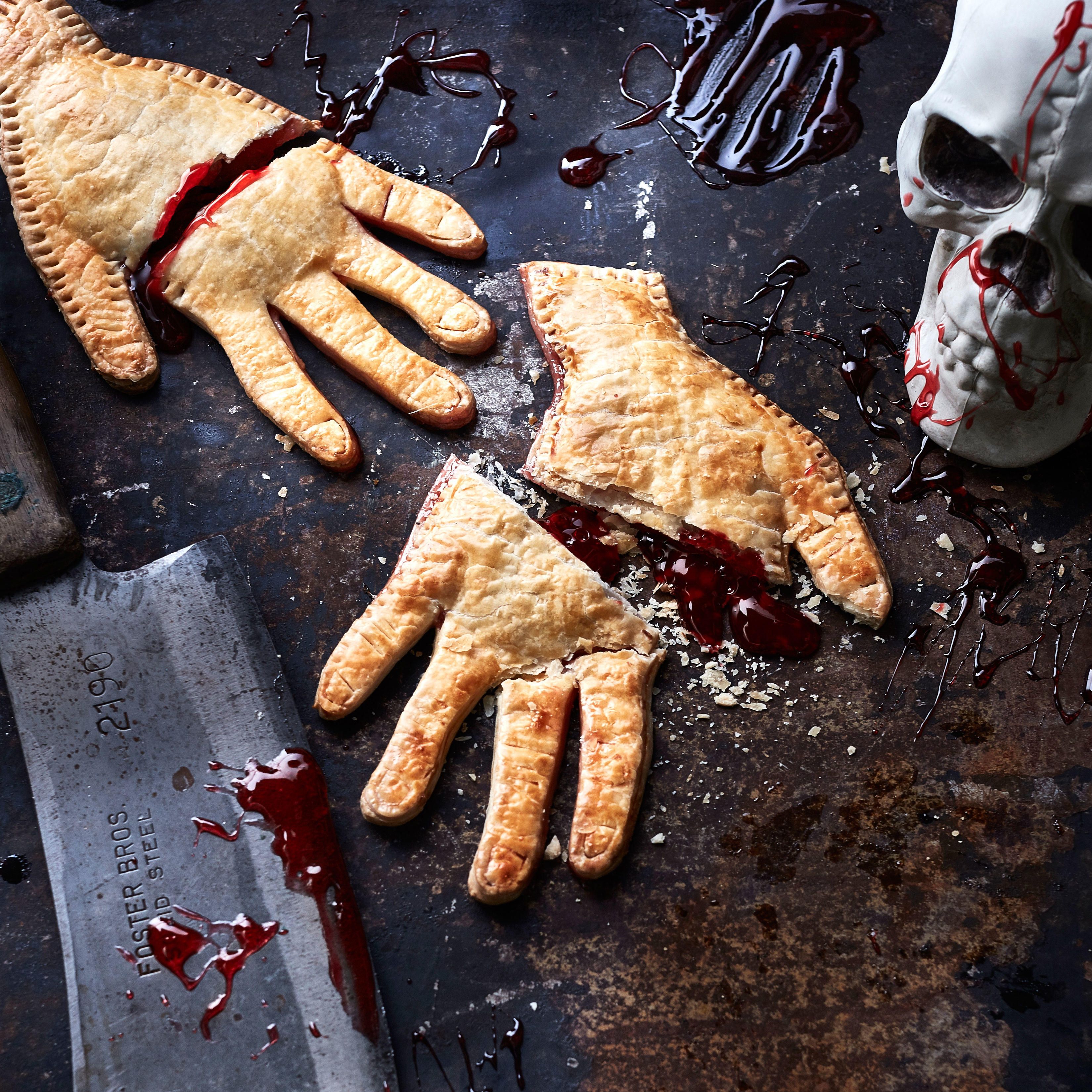 Severed Hand Pies image
