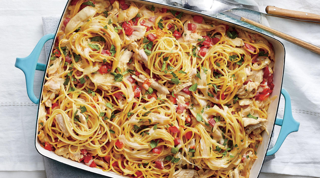 Easy Chicken Spaghetti