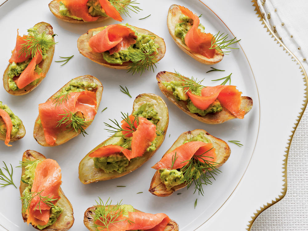 Appetizer recipes for French canape menu