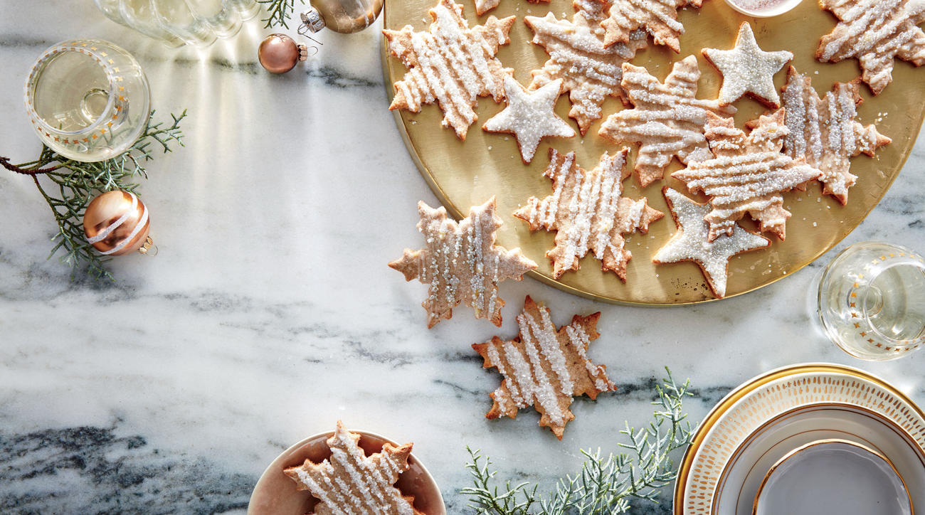 Iced Whole-Wheat Sugar Cookies image