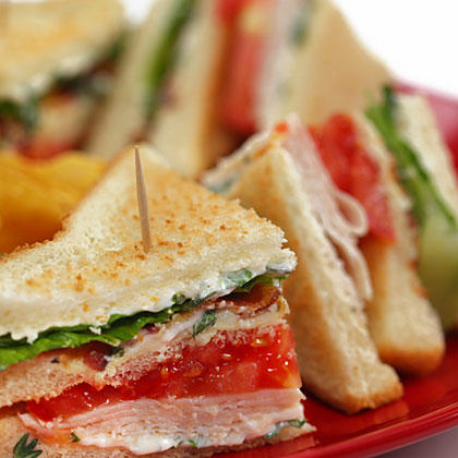 Turkey Club Sandwiches