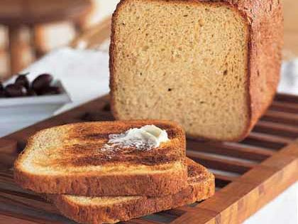 Whether you use your bread machine to bake fresh loaves or simply to knead the dough, the machine makes homemade bread making a snap.