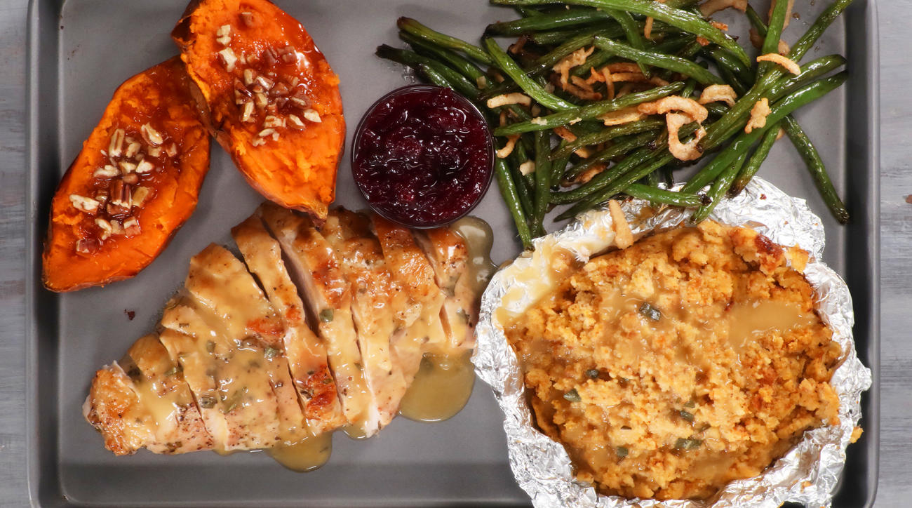 Sheet Pan Thanksgiving Dinner image